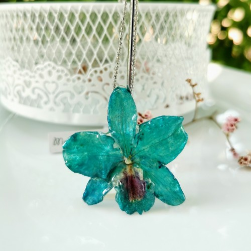 Триизмерна Тюркоазена Орхидея