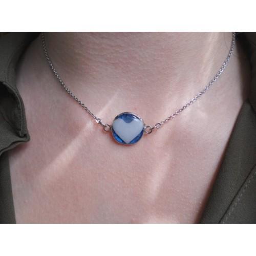 Нежен медальон стомана