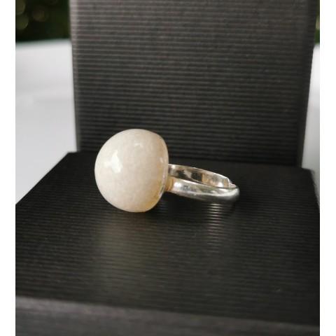 Сребърен пръстен Перла