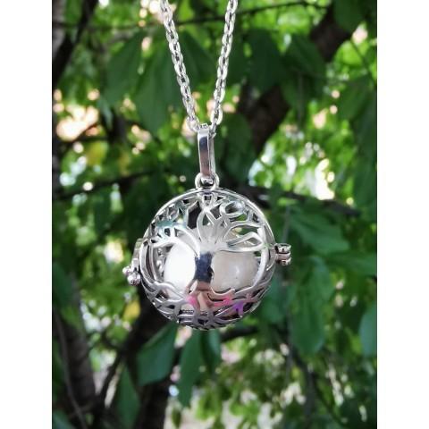 Винтидж медальон дървото на живота