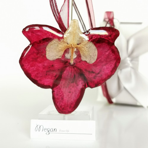 Червена орхидея